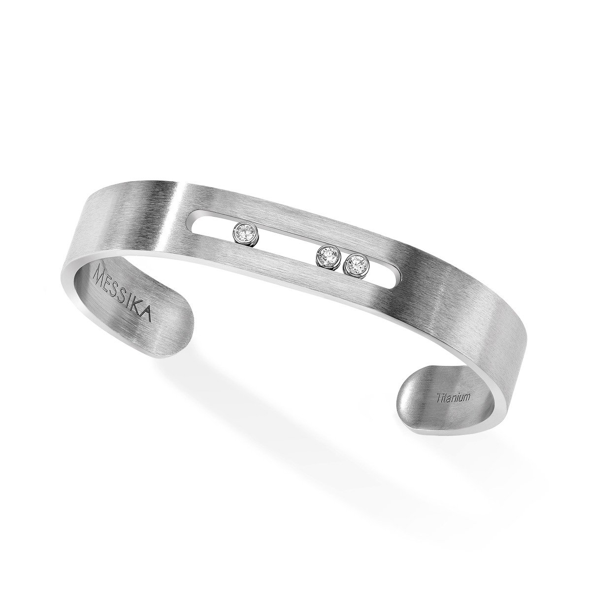 Messika Move Titanium Bangle 21BR02TN6549-0429