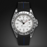 Explorer II 40 Tang Buckle Series VulChromatic Jet Black Pacific Blue