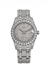 34 мм White Gold and Diamonds