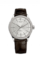 Rolex Cellini Time 39 White gold Polished finish 50609rbr-0009 — фото превью