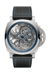 Panerai Lo Scienziato Tourbillon GMT Titanio — 47 mm PAM00767