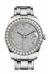 Rolex White Gold and Diamonds 39 mm 86289-0005 — фото превью