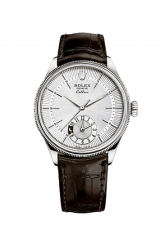 Rolex Cellini Dual Time 39 White gold Polished finish 50529-0009 — фото превью