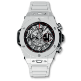Hublot Unico White Ceramic Bracelet 45 mm 411.HX.1170.HX — фото превью