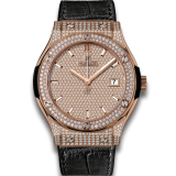 Hublot King Gold Full Pavé 45 mm 511.OX.9010.LR.1704