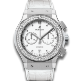 Hublot Chronograph Titanium White Diamonds 42 mm 541.NE.2010.LR.1104 — фото превью