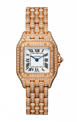 Cartier Small model with Diamonds CPDC-SM-PGD-01