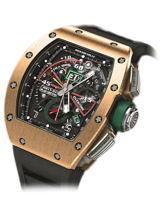 RM 11-01 Automatic Flyback Chronograph — Roberto Mancini Rose Gold