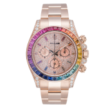 Rolex Daytona 18ct Everose Gold Custom Rainbow