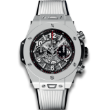 Hublot Unico White Ceramic 45 mm 411.HX.1170.RX — фото превью