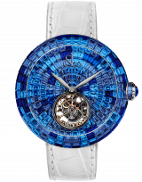 Brilliant Flying Tourbillon Blue Shades