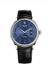Rolex Cellini Date 39 White gold polished finish 50519-0013 — фото превью
