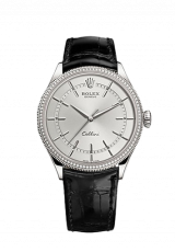 Rolex Cellini Time 39 White gold Polished finish 50609rbr-0008 — фото превью