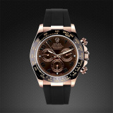 Rolex Daytona on Strap RG Classic Series Jet Black M101-BK-RG