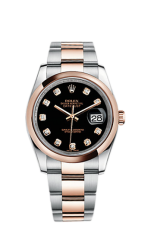 Rolex Steel and Everose Gold 36 мм 116201-0083 — фото превью