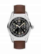 Montblanc Summit Smartwatch of Titanium and Leather Strap 117535 — фото превью