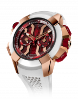 Epic X Chrono Rose Gold Red Dial