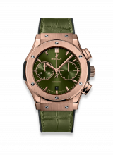 Hublot Chronograph King Gold Green 521.OX.8980.LR