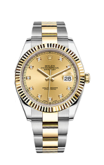 Rolex Steel and Yellow Gold 41 мм 126333-0011