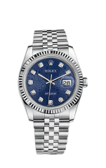 Rolex Steel and White Gold 36 мм 116234-0110 — фото превью