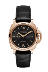 Panerai 3 Days Automatic Oro Rosso — 38 mm PAM00908