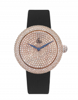 Brilliant Pave Rose Gold