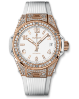 One Click King Gold White Pave 39 mm