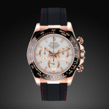 Rolex Daytona on Strap RG Couture Series Jet Black Red M101-BKCR-RG