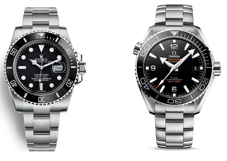 ROLEX SUBMARINER VS OMEGA SEAMASTER