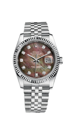 Rolex Steel and White Gold 36 мм 116234-0105