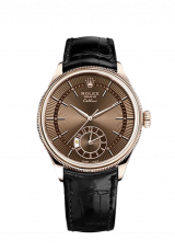 Rolex Cellini Dual Time 39 Everose gold polished finish 50525-0016 — фото превью