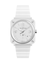 Bell & Ross BR S WHITE CERAMIC BRS-WH-CES/SCE