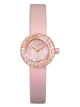 Spiral Pink Mother of Pearl Dial