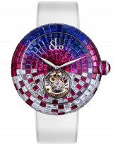 Brilliant Flying Tourbillon Purple Degrade