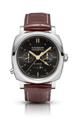 Panerai Radiomir 1940 Chrono Monopulsante 8 Days GMT Oro Bianco - 18mm PAM00503 — фото превью