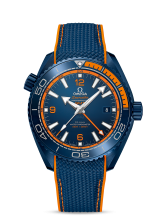 Omega PLANET OCEAN 600M CO-AXIAL MASTER CHRONOMETER GMT 215.92.46.22.03.001 — фото превью