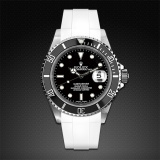 Submariner Non-Ceramic Classic Series Arctic White