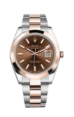 Rolex Steel and Everose Gold 41 мм 126301-0001