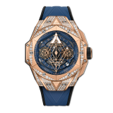 Unico Sang Bleu II King Gold Blue Pave