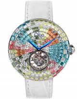 Brilliant Flying Tourbillon Arlequino Pastel