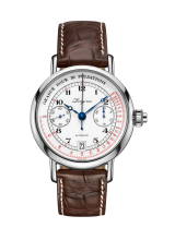Column Wheel Single Push Piece Pulsometer Chronograph Heritage