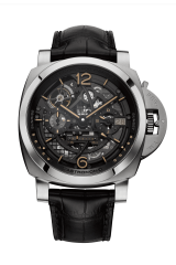Panerai Lastronomo Tourbillon Moon Phases Equation of Time GMT — 50 mm PAM00920