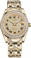 Yellow Gold and Diamonds 34 мм