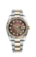 Rolex Steel and Yellow Gold 36 мм 116233-0186 — фото превью