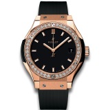 Hublot King Gold Diamonds 33 mm 581.OX.1181.RX.1104