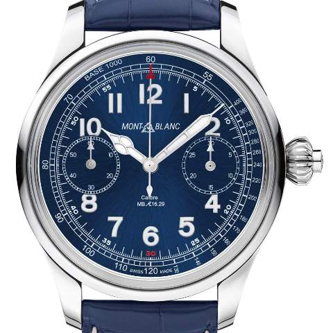 gphg montblanc 1858 chronograph tachymeter limited edition