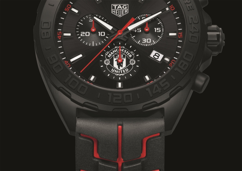 tag heuer manchester united