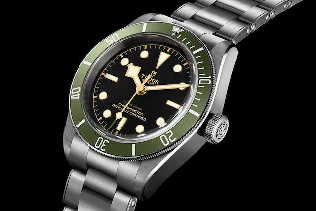 "Tudor Black Bay ""Green"" Exclusive to Harrods"