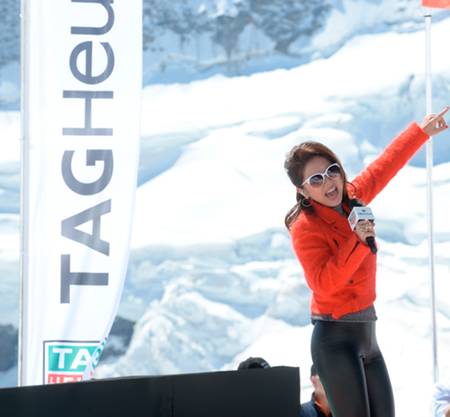 G.E.M. («Get Everybody Moving») и TAG Heuer