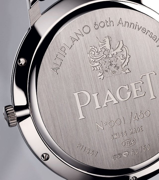 Piaget Altiplano 60th anniversary Collection 38mm back